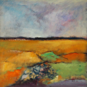 Marna Rix: Maleri 50 x 50 cm. Nr. 1011717